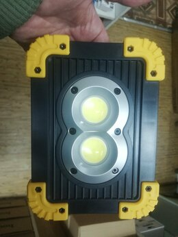Прожекторы - Светодиодный прожектор 20W-COB+1W+Power Bank LL802, 0
