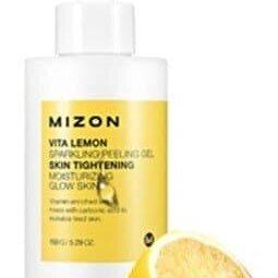 Скрабы и пилинги - Витаминный пилинг-гель с экстрактом лимона MIZON Vita Lemon Sparkling Peelin..., 0