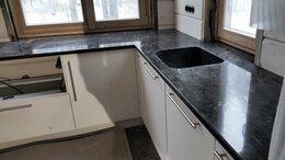 Мебель для кухни - Подоконник-столешница с мойкой из искусственного…, 0