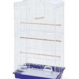 Клетки и домики - N1 Клетка для птиц, 47*36*92, фигурная, укомплектованная., 0