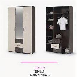 Шкафы, стенки, гарнитуры - Шкаф трёхдверный с зеркалом Яна, 0