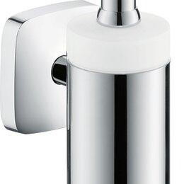 Мыльницы, стаканы и дозаторы - Диспенсер Hansgrohe 41503000 PuraVida для жидкого мыла, 0