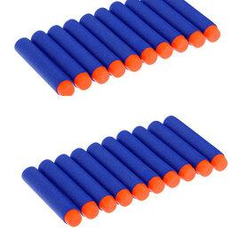 Аксессуары и комплектующие - E187 Мягкие пульки для бластера 20 шт., 0