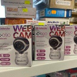 Веб-камеры - Веб-камера Defender C-090, с микрофоном, 0