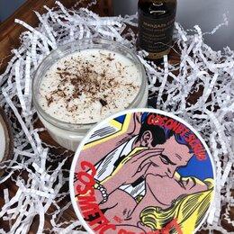 Скрабы и пилинги - Мыльный кокосовый скраб ручной работы , 0