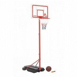 Стойки и кольца - Стойка баскетбольная с регулируемой высотой, 0