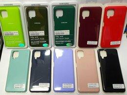 Чехлы - Чехол Silicone Case Samsung A12., 0