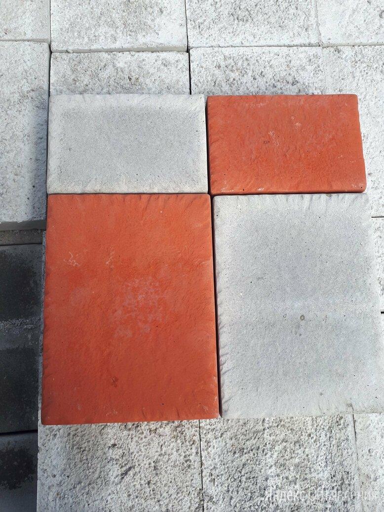Брусчатка литая 200*150*50 мм по цене 14₽ - Тротуарная плитка, бордюр, фото 0