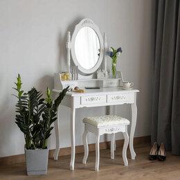 Столы и столики - Туалетный столик, косметический с зеркалом, 0