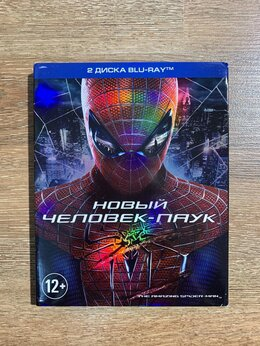 Видеофильмы - Новый Человек-Паук (Blu-ray), 0