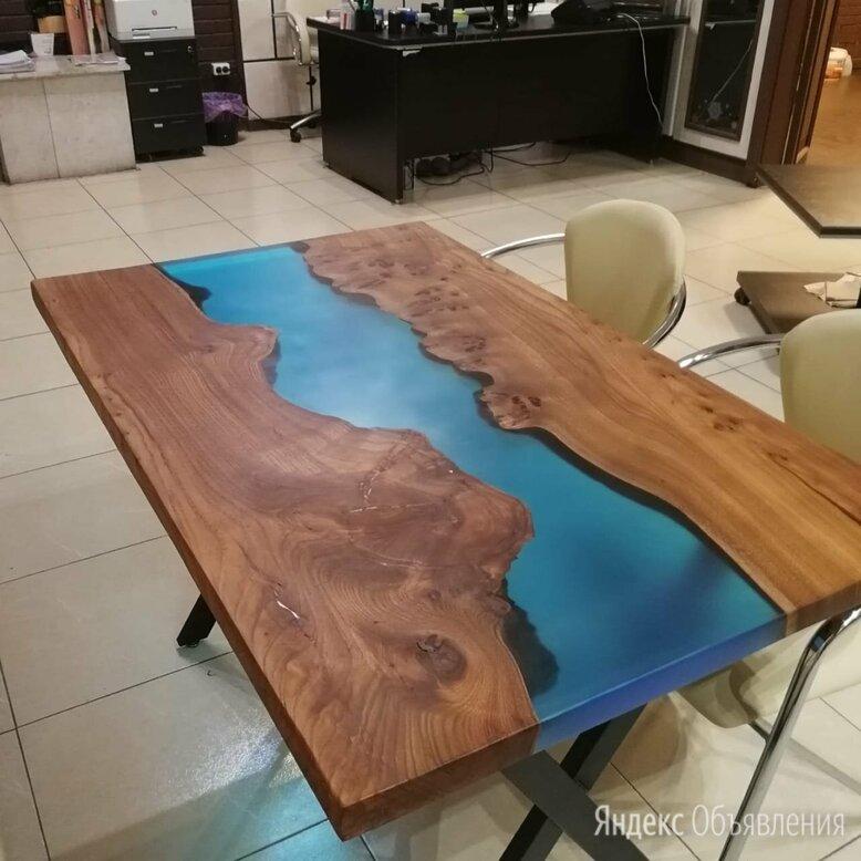 Эпоксидный стол из карагача по цене 41000₽ - Столы и столики, фото 0