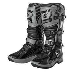 Мотоэкипировка - Мотоботы кроссовые O'neal RMX серо/черные, 0
