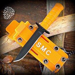 Ножи и мультитулы - Нож брелок сувенирный USMC KA-BAR OR микро, 0