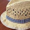 Детская соломенная шляпа H&M 74 размер по цене 100₽ - Головные уборы, фото 1
