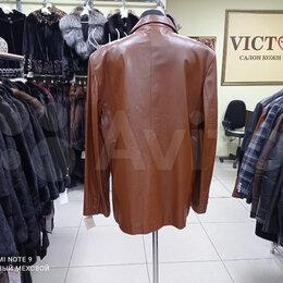 Пиджаки - Пиджак мужской Турция кожаный, 0