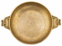 Другое - Ваза (орешница) лаконичной формы, бронза, Западная, 0