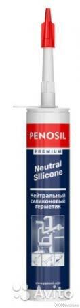 Герметик силиконовый нейтральный Penosil Premium Neutral 310 мл, арт.H1298 по цене 408₽ - Готовые строения, фото 0