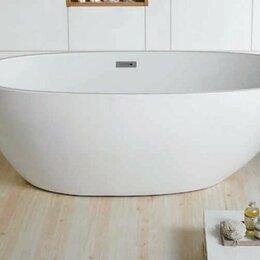 Ванны - Ванна акриловая Azario Leeds 169x85x57 универсальная, 0