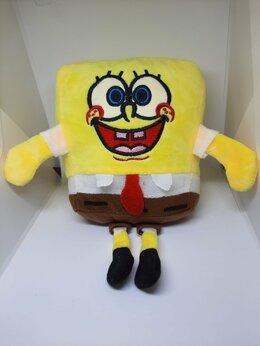 Мягкие игрушки - Губка Боб квадратные штаны, 0