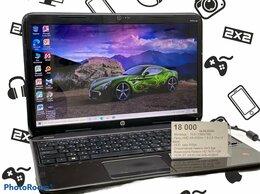 Ноутбуки - ноутбук  Hp новая акб + 4 ядра , 0