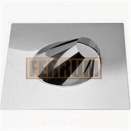 Уголки, кронштейны, держатели - Крышная разделка угловая (430/0,5) Ф400 Феррум, 0