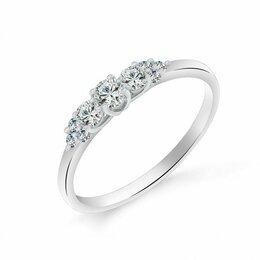 Кольца и перстни - к210207 Кольцо (Серебро) (размер: 18), 0