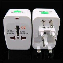 Зарядные устройства и адаптеры - Универсальный переходник адаптер вилка US UK EU AU, 0