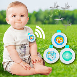 Косметика и гигиенические средства - Кнопка против комаров BIKIT GUARD, 0