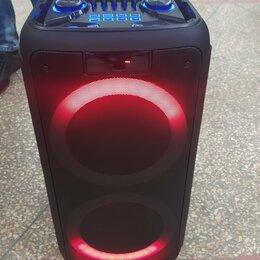 Акустические системы - Большая колонка с микрофоном для караоке Eltronic, 0
