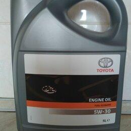 Масла, технические жидкости и химия - Масло моторное Toyota 5w-30. 5 литров. Оригинал., 0
