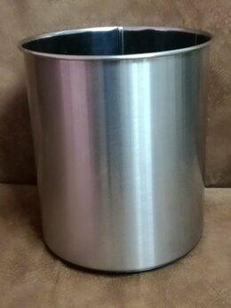 Мусорные ведра и баки - Корзина для мусора 5 литров (нержавеющая сталь), 0