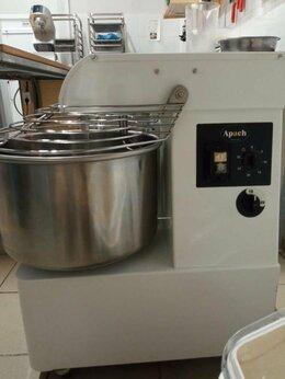 Тестомесильные и тестораскаточные машины - Тестомес спиральный Apach, 0