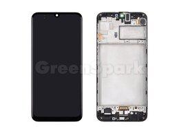 Дисплеи и тачскрины - Дисплей для Samsung M307F Galaxy M30s в рамке +…, 0