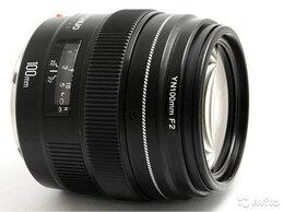 Объективы - Объектив на Canon Yongnuo YN 100mm F2 EF, 0