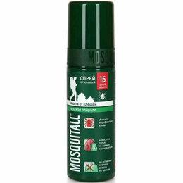 Средства от насекомых - Спрей Спецзащита от клещей Mosquitall, 15 дней, 100мл, 0