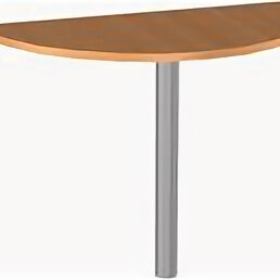 Мебель для учреждений - Брифинг-приставка к столу на опоре, 0
