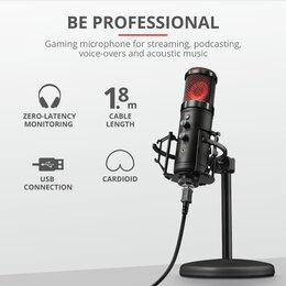 Микрофоны - Микрофон Trust GXT 256 exxo, 0