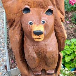 Садовые фигуры и цветочницы - Скульптуры из дерева, 0