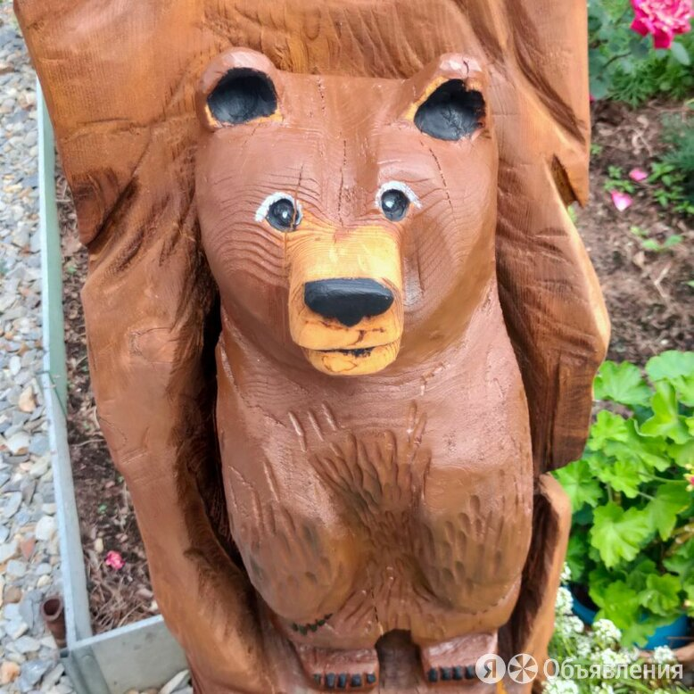 Скульптуры из дерева по цене 1000₽ - Садовые фигуры и цветочницы, фото 0