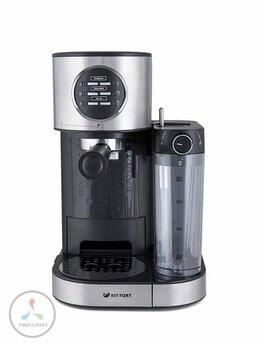 Кофеварки и кофемашины - Кофеварка Kitfort КТ-703 рожкового типа, 0