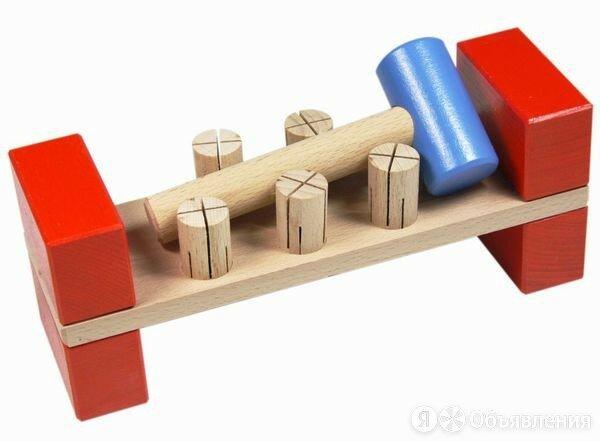 Стучалочка Гвозди-перевертыши по цене 402₽ - Развивающие игрушки, фото 0