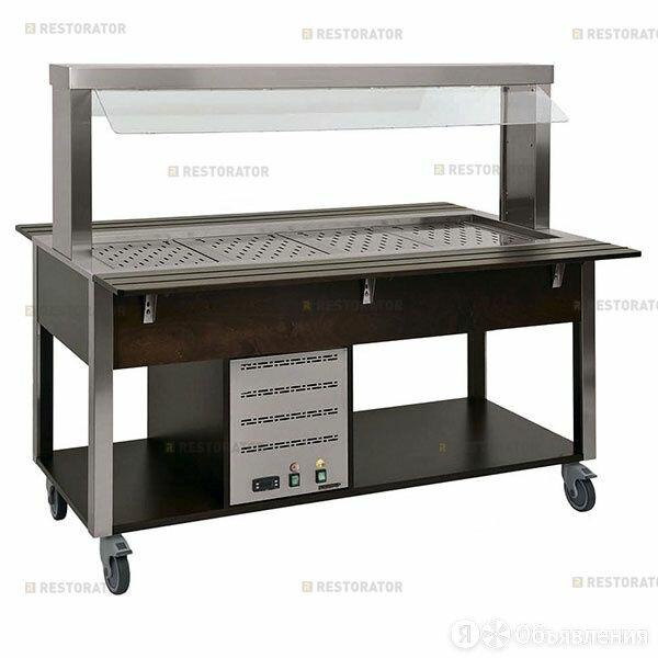 Metalcarrelli Стол шведский Metalcarrelli 6910.6-RAL по цене 283110₽ - Мебель для кухни, фото 0
