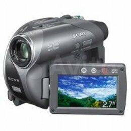 Видеокамеры - Видеокамера Sony DCR-DVD205E, 0