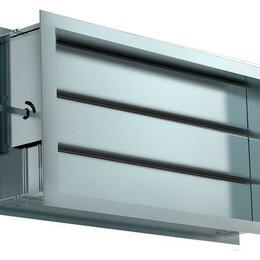 Электромагнитные клапаны - DRr 1000х500 воздушный клапан с подставкой под электропривод, 0
