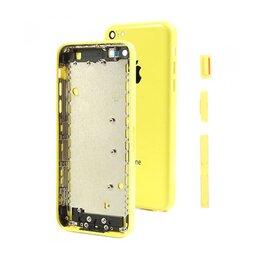 Корпусные детали - Корпус iPhone 5C желтый, 0