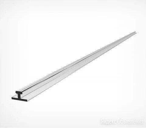Пластиковый Т-профиль шириной 10 мм для крепления разделителей на полке T-RAIL10 по цене 46₽ - Профиль для плитки, фото 0