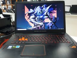 """Ноутбуки - Ноутбук Asus Rog i5-7/SSD1120/8G/1060 6G/17""""3 FHD, 0"""