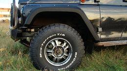 Кузовные запчасти  - Расширители арок, брызговики и накладки LAPTER…, 0