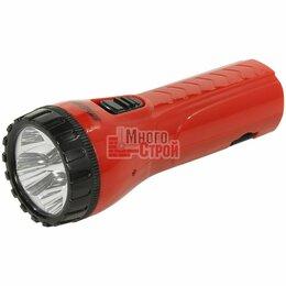 Настольные игры - Аккумуляторный светодиодный фонарь 4 LED с прямой зарядкой Smartbuy, красный, 0