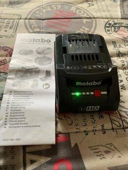 Аккумуляторы и зарядные устройства - Аккумулятор Metabo 18 В 4 А·ч, 0